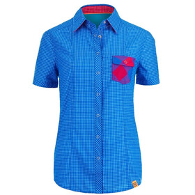 Ortovox W's Rock'n'Wool Cool Shirt Short Sleeve Blue Ocean (008)